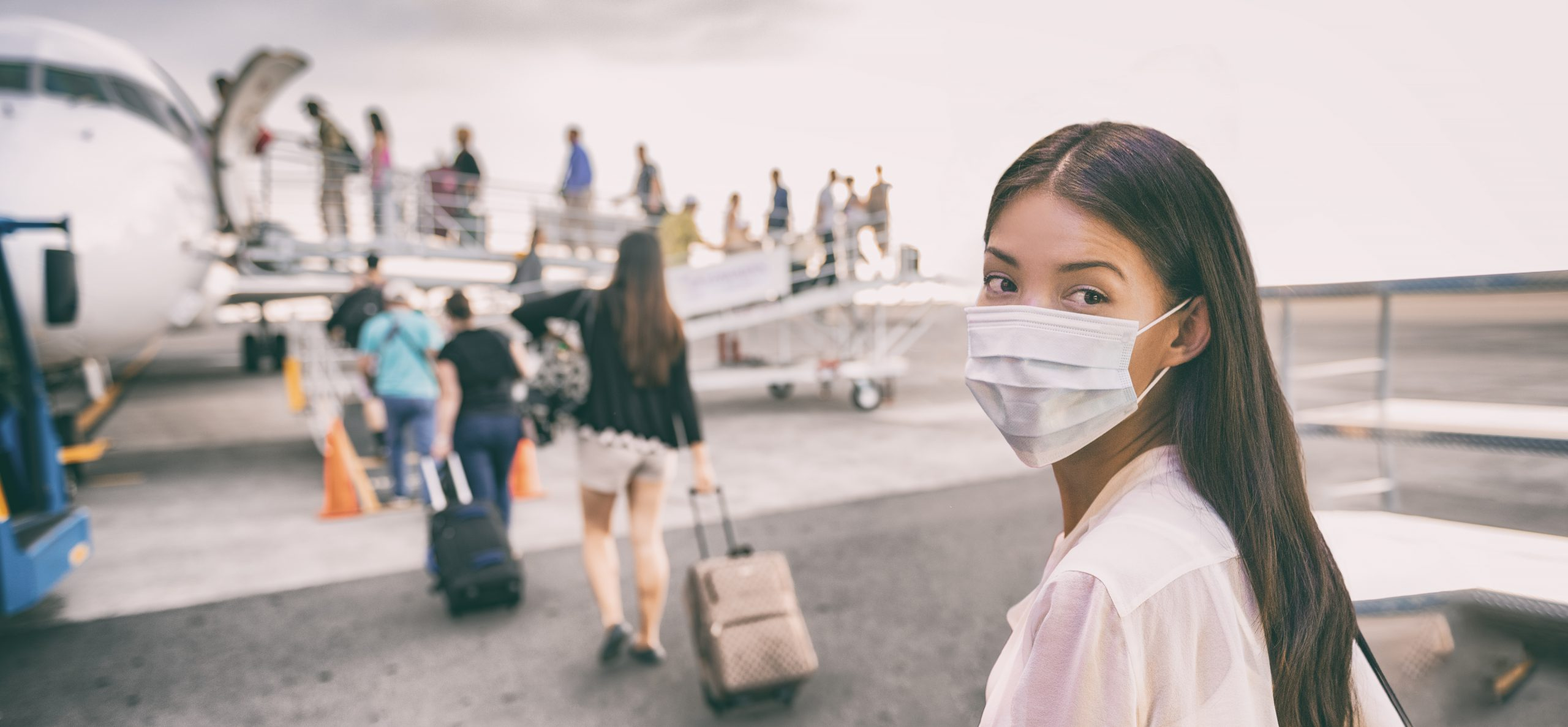 coronavirus on plane